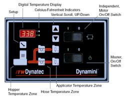 Hot Melt Adhesive Supply Unit Control Pannel