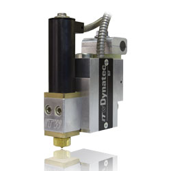 The BF™ Mod-Plus Electric Valve adhesive applicator head from ITW Dynatec®
